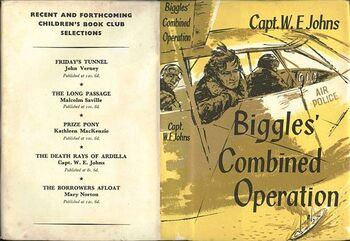Biggles Combined Operation-CBC jacket