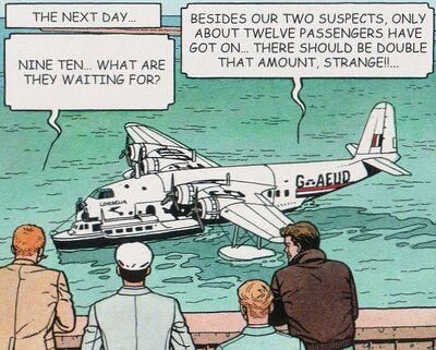 Empire boat-cygne