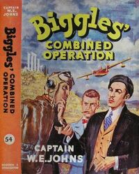 Biggles Combined Operation 1959 cover