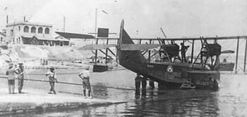 Flying boat at Kalafrana