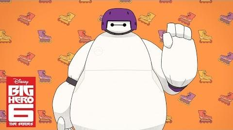 Baymax and Go Go (Short) Big Hero 6 The Series Disney Channel