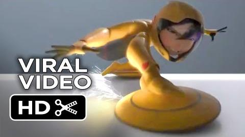 Big Hero 6 VIRAL VIDEO - Go Go (2014) - Jamie Chung Disney Animation Movie HD