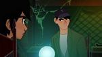 Hiro and Tadashi talking