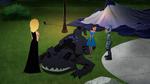 Karmi and monster