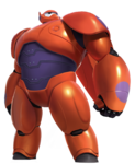 Baymax Superhero Render