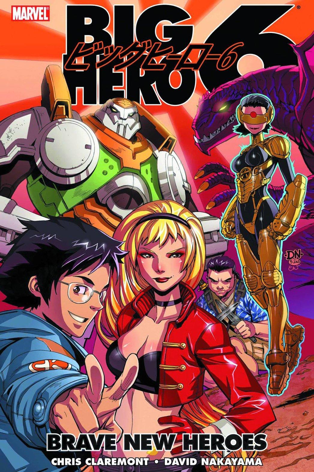 100 Photos of Big Hero Comic