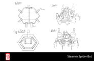 Big Hero 6 The Series props - Steamer's Spider Bot