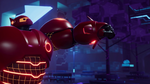 Baymax Rocket Punch