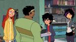 Hiro gets upset