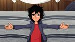 Hiro in bed