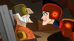Baron von steamer and Super sonic sue