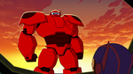 Baymax sunrise