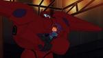 Baymax grabs Hiro