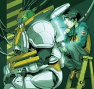 Marvel's Hiro and Baymax