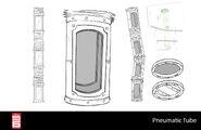 Big Hero 6 The Series props - Pneumatic Tube