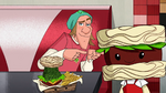 Fred and Noodle Burger Boy