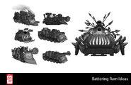 Big Hero 6 The Series props - Battering Ram