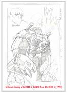 Baymax Marvel concept