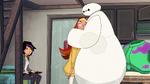 Baymax hugging Honey