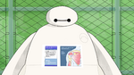 Baymax shows injuries