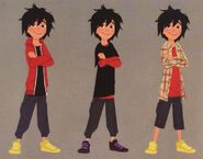 Hiro concept outfits