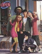 Tadashi and friends Big Hero 6