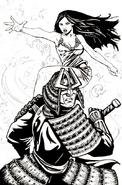 Ebon Samurai and Sunpyre