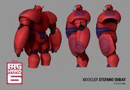 Super Baymax character model 2