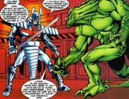 Baymax and Silver Samurai