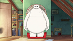 Baymax wakes up