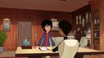Hiro talks with Granville