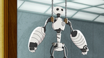 Baymax chained