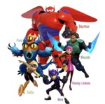 Big Hero 6 in Kingdom Hearts III
