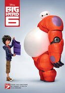 BH6 Hiro and Baymax Poster