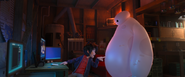 Hiro going to give Baymax an upgrade