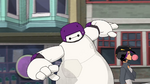 Baymax skates out of control
