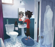Hiro Teethbrushing Concept Art