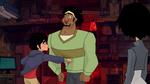 Hiro punches Wasabi for seemingly no reason