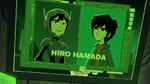 Hiro in Obake's screen