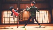 Tadashi and Hiro karate