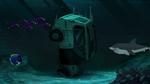 Wasabi's car underwater