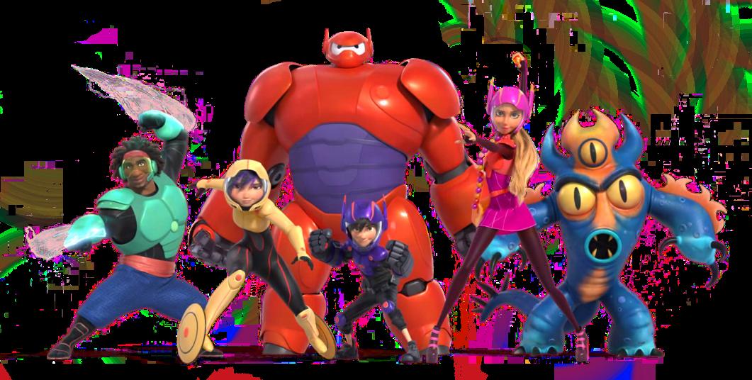 Image Big Hero 6 Team Render Png Big Hero 6 Wiki