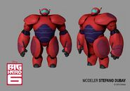 Super Baymax character model