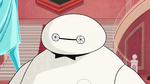 Baymax scanning eyes