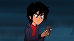 Hiro destroys phone