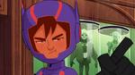 Hiro embarrassed