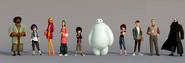 Big Hero 6 Characters