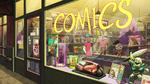 Fred comic shop