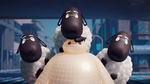Baymax with sheep