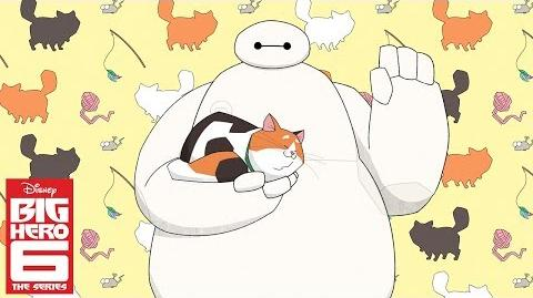 Baymax and Mochi (Short) Big Hero 6 The Series Disney Channel